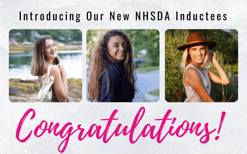 NHSDA New Inductees